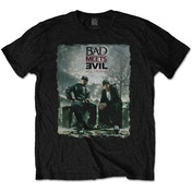 Bad Meets Evil - Burnt Men's Small T-Shirt - Black