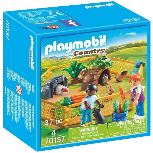 Playmobil Country Farm Animal Enclosure