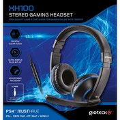 Gioteck XH100 Wired Stereo Gaming Headset Blue (PS4/Xbox One/PC/WII U)