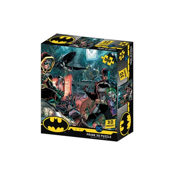Image of Batman and Robin 3D Puzzle 500 Pieces