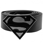 Superman Metal Buckle Belt (Black)
