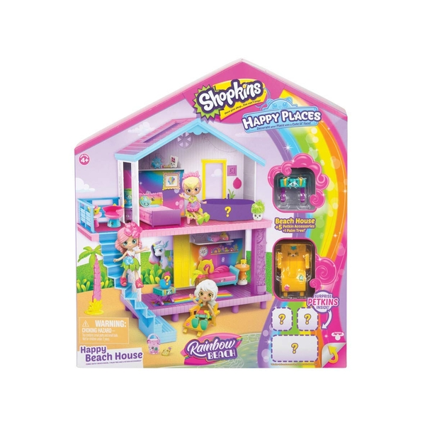 Shopkins Happy Places Rainbow Beach Beach House