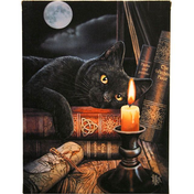 Small Witching Hour Canvas Picture By Lisa Parker