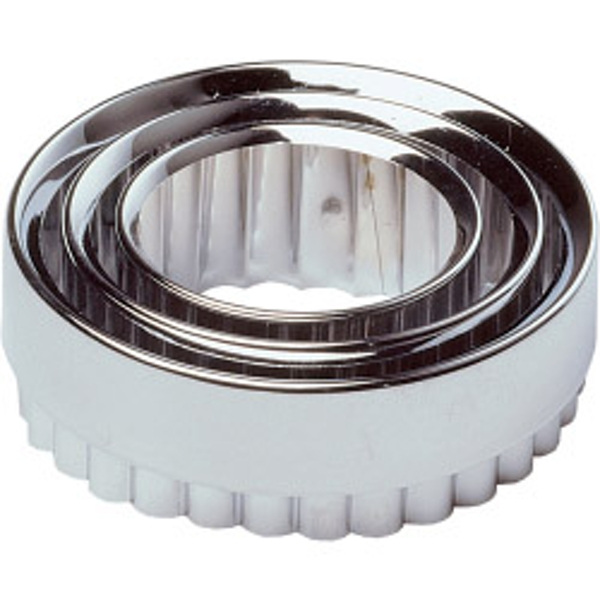 Chef Aid Pastry Cutters Metal (Set of 3)