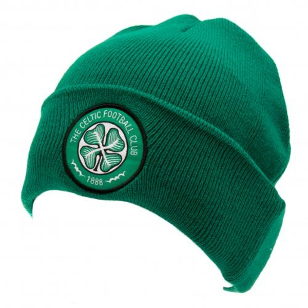 Celtic FC Turned Up Knitted Hat