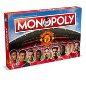Manchester Utd F.C 17/18 Football Club Monopoly Board Game