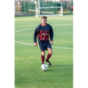 Precision Valencia Shirt 34-36 inch Navy/Red