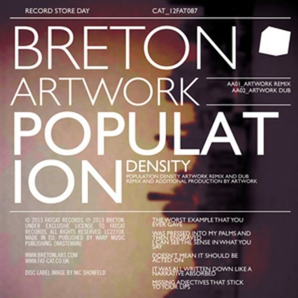 Breton ‎– Population Density Vinyl