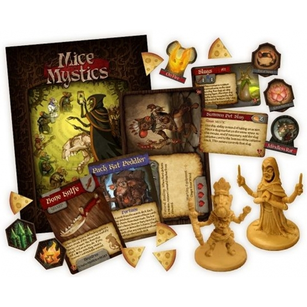The Heart of Glorm Mice And Mystics Board Game