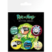 Rick And Morty Mix 1 Badge Pack - Image 2