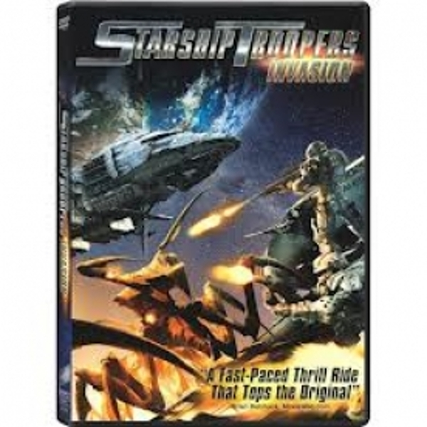 Starship Troopers Invasion Rental DVD