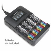 Super Fast LCD Battery Charger UK Plug