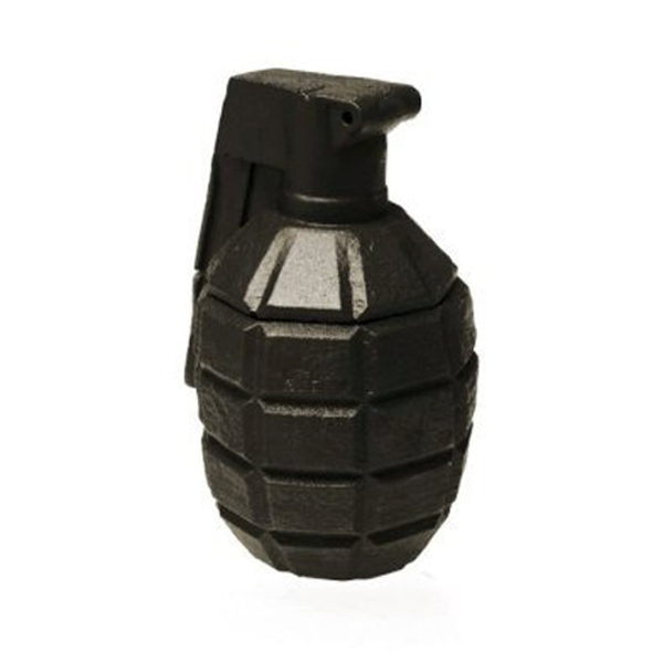 Black Concrete Grenade For Him Candle