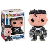 Crossbones Unmasked (Captain America Civil War) Funko Pop! Limited Edition Vinyl Bobble-Head Figures