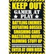 Gaming Keep Out Maxi Poster - Image 2