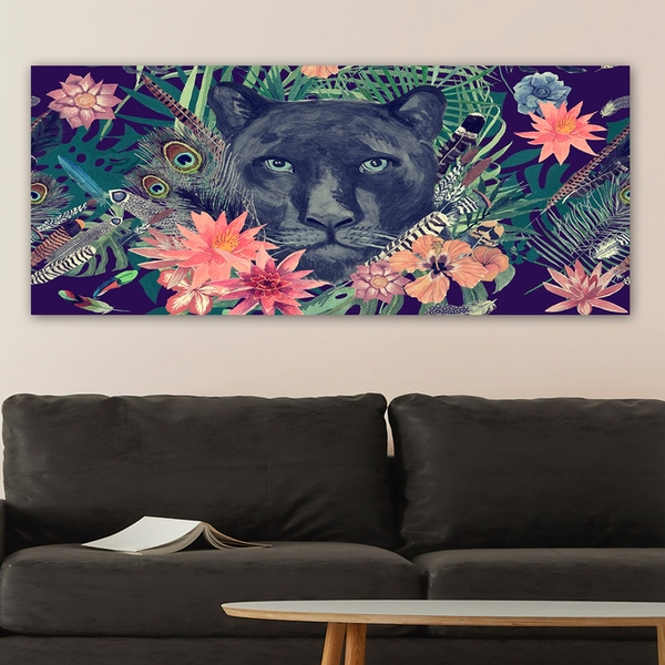 YTY1067298785_50120 Multicolor Decorative Canvas Painting