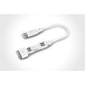 Innergie Magic Cable Trio - Charge and Sync 3 in 1 USB Cable