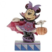 Violet Vampire (Minnie Mouse) Disney Traditions Figurine