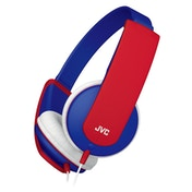 JVC HAKD5A Tiny Phones Kids Stereo Headphones Blue