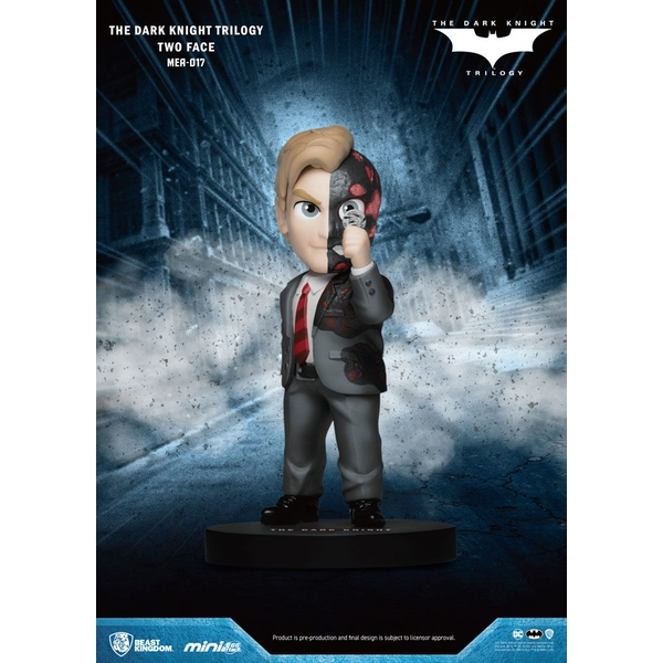 Dark Knight Trilogy Mini Egg Attack Figure Two-Face 8 cm