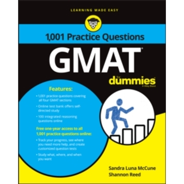 1,001 GMAT Practice Questions For Dummies