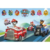 Paw Patrol Vehicles Maxi Poster