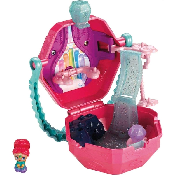 Fisher-Price Shimmer & Shine Teenie Genies Rainbow Zahramay On-the-Go Playset - Image 1