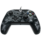 PDP Deluxe Wired Controller Black Camo for Xbox One