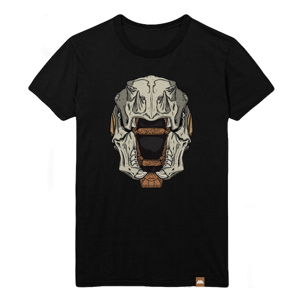 Destiny - Skull of Dire Ahamkara Helmet Male XL T-Shirt - Black