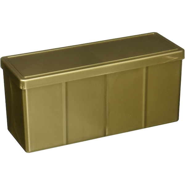 Four Compartment Box Gold