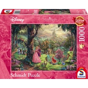 Thomas Kinkade Disney Sleeping Beauty 1000 Piece Jigsaw Puzzle