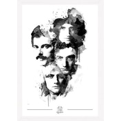 Queen Faces Collector Print