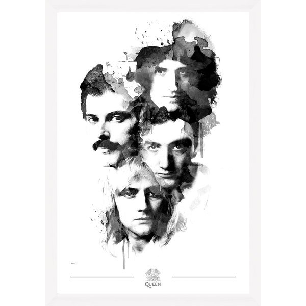 Queen Faces 50 x 70 Collector Print