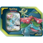Pokemon TCG: Celebi & Venusaur GX TAG Team Tin