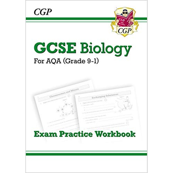 New Grade 9-1 GCSE Biology: AQA Exam Practice Workbook by CGP Books (Paperback, 2016)