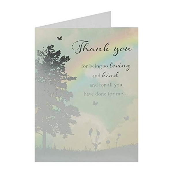 Reflections Thank You Card - Thank You (One Random Supplied)