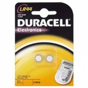 Duracell Electronics Alkaline LR44 Battery - 2 Pack