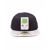 Nintendo Gameboy Rubber Patch Snapback Baseball Cap