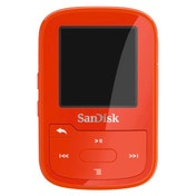 SanDisk Clip Sport Plus 16GB, red