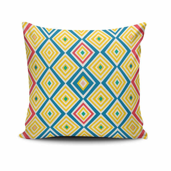 NKLF-214 Multicolor Cushion Cover