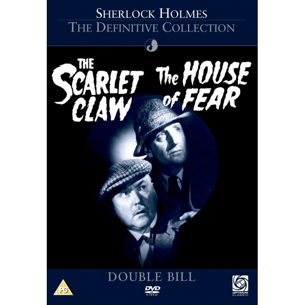 Sherlock Holmes - Scarlet Claw / The House Of Fear DVD
