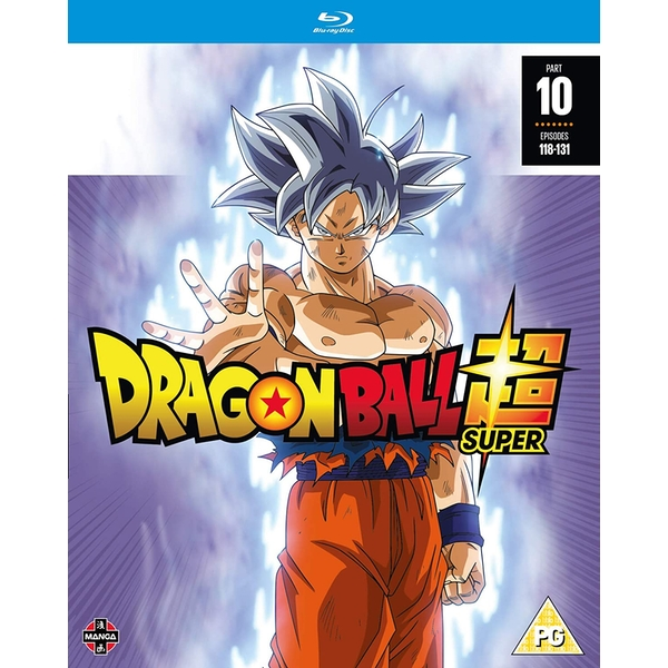 Dragon Ball Super: Part 10 (Episodes 118-131) Blu-ray