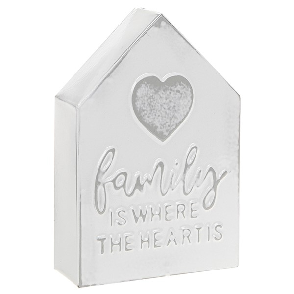 Homestyle Standing Metal House Family