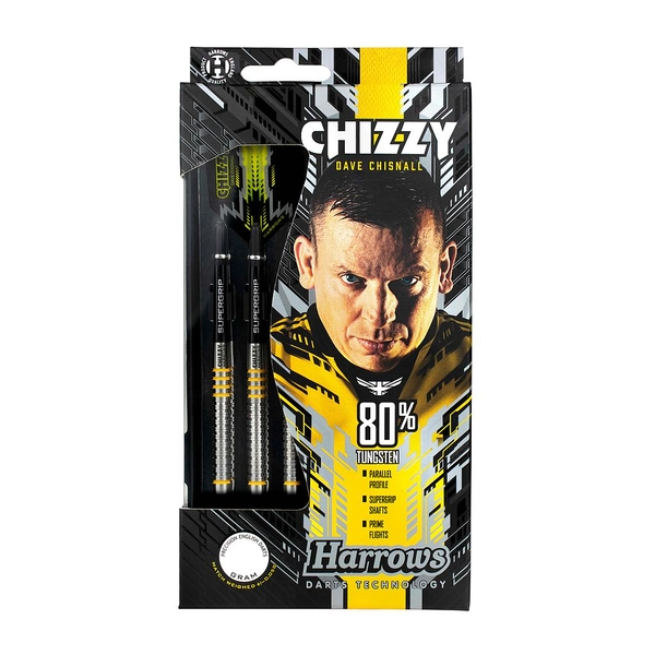 Harrows Chizzy 80% Tungsten Darts - 26g