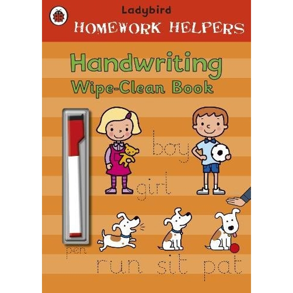 Ladybird Homework Helpers: Handwriting Wipe-Clean Book by Penguin Books Ltd (Paperback, 2010)