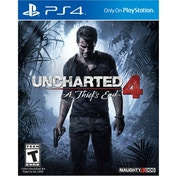 Uncharted 4 A Thief's End PS4 Game (Bundle Copy) (#)