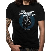 Gaslight Anthem - Gloves Men's Medium T-Shirt - Black