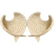 Angel Wing Dish Pack Of 2