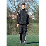 Precision Ultimate Tracksuit Jacket Black/Silver/White 26-28