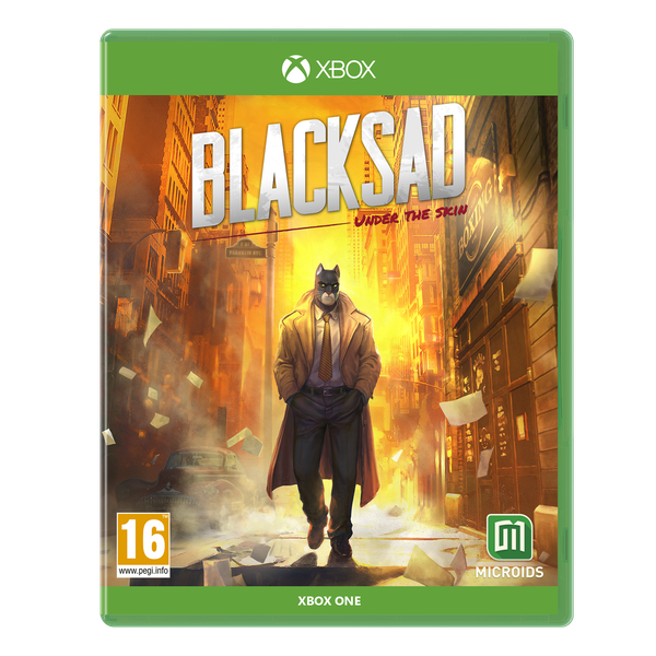 Blacksad Under The Skin Limited Edition Xbox One Game